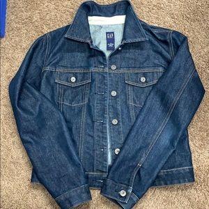 Gap dark denim jacket size M